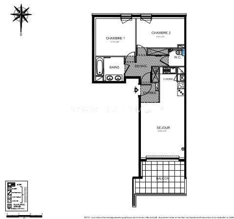 Vente appartement Roquebrune-cap-martin 402000€ - Photo 3