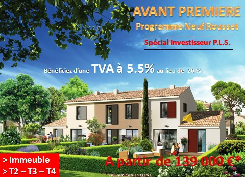 New home sale program Rousset  - Picture 1