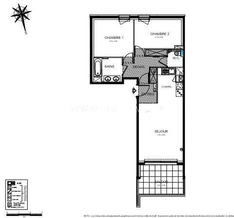 Vente appartement Roquebrune-cap-martin 424000€ - Photo 3