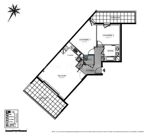 Vente appartement Roquebrune-cap-martin 425000€ - Photo 3