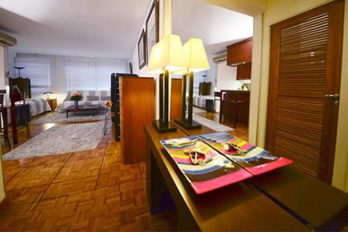 Vermietung von Ferienwohnung - Studio - 45 m2 - Paris 16ème - Photo