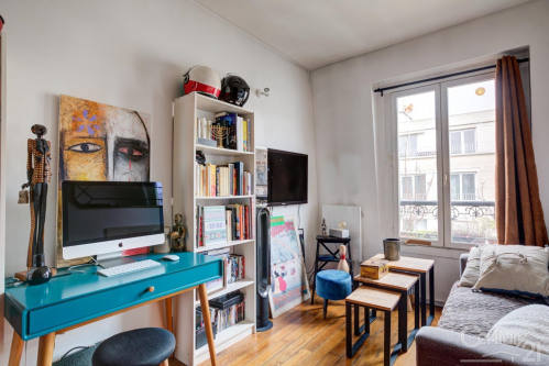 Vente - Appartement 2 pièces - 24,68 m2 - Paris 11ème - Photo