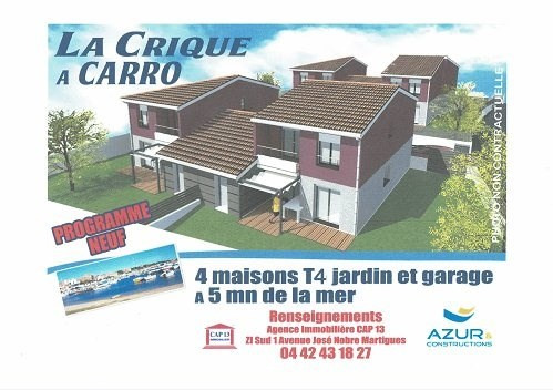 Vente maison / villa Martigues 385 000€ - Photo 1
