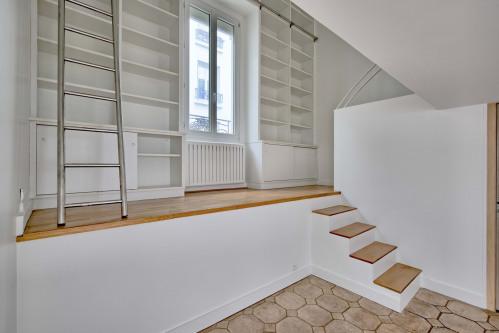 Revenda - moradia em banda 6 assoalhadas - 154 m2 - Paris 13ème - Photo