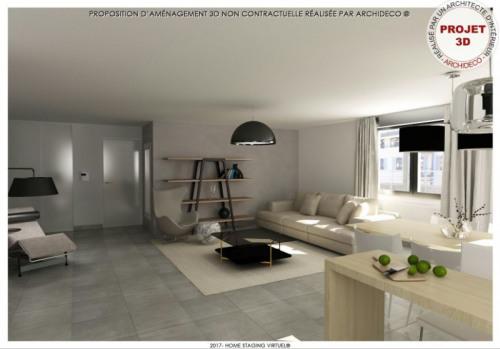 New home sale - Programme - Manosque - Proposition d'aménagement T4 110m² (2) - Photo