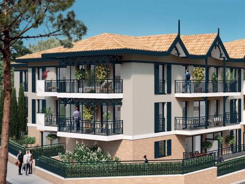 Produit d'investissement - Appartement 2 pièces - 43 m2 - Arcachon - Photo