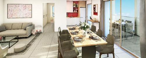Produit d'investissement - Appartement 3 pièces - 70 m2 - Lyon 3ème - Photo