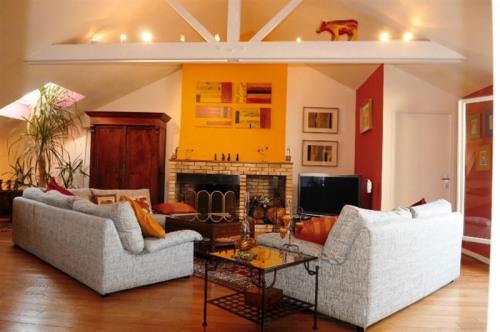 Locação para as férias - Apartamento 4 assoalhadas - 120 m2 - Puteaux - Séjour - Photo