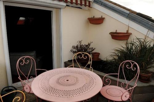 Locação para as férias - Apartamento 4 assoalhadas - 120 m2 - Puteaux - Terrasse - Photo