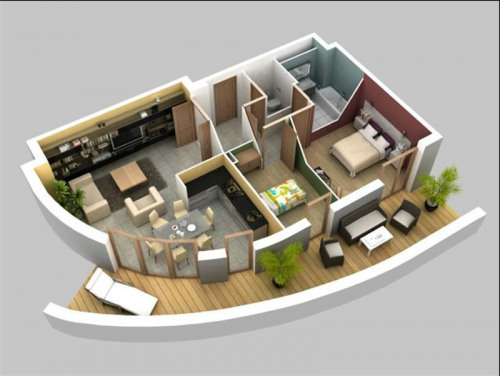 New home sale - Programme - Sarcelles - Plan logement 3 Pièces - Photo