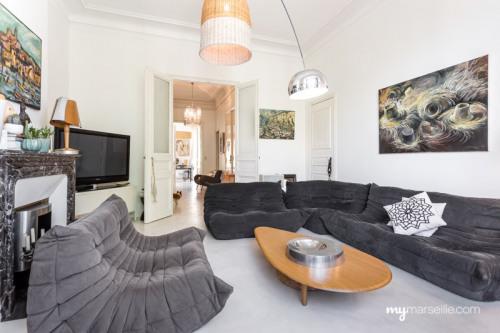 Vente de prestige - Appartement 5 pièces - 158,5 m2 - Marseille 6ème - Photo