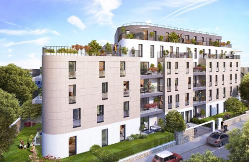 Kapitalanlag - Wohnung 5 Zimmer - 102,5 m2 - Châtenay Malabry - Photo