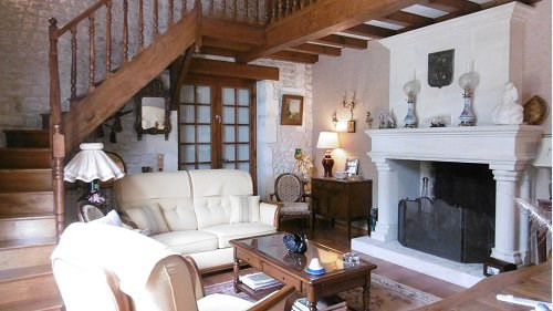 Sale house / villa 10 mn sud cognac 267500€ - Picture 5