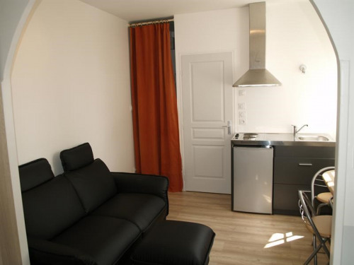 Location - Appartement 2 pièces - 30 m2 - Limonest - Salon - Photo