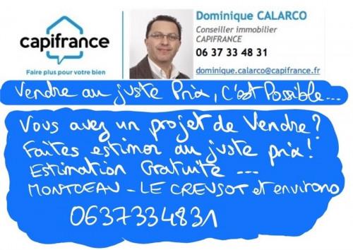 Vente - Terrain - 1000 m2 - Montceau les Mines - Photo