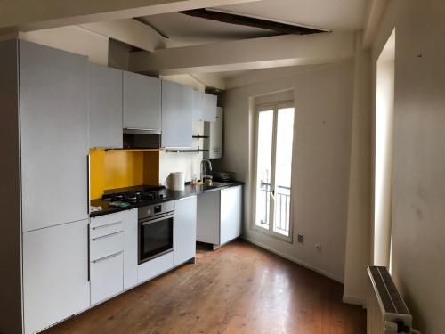 Vente - Duplex 3 pièces - 50 m2 - Paris 18ème - Photo