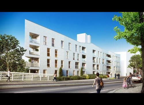Produit d'investissement - Appartement 2 pièces - 40,44 m2 - Valenciennes - Photo
