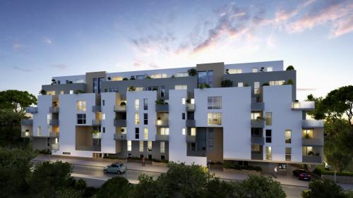 Produit d'investissement - Appartement 3 pièces - 66,9 m2 - Montpellier - Photo