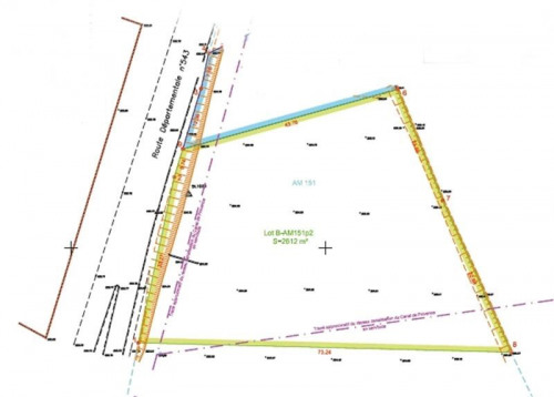 Location - Terrain commercial - 2600 m2 - Plan de Campagne - Photo