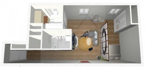 Vente - Studio - 38 m2 - Villeurbanne - Photo