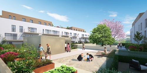 Produit d'investissement - Studio - 31 m2 - Monteux - ilot interne Le Jardin d'Atla - Photo