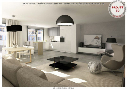 New home sale - Programme - Manosque - Proposition d'aménagement T4 110m² (1) - Photo