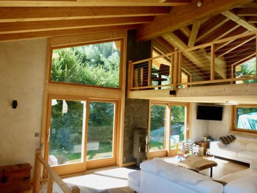 Deluxe sale - Chalet 5 rooms - 196 m2 - Chamonix Mont Blanc - Photo