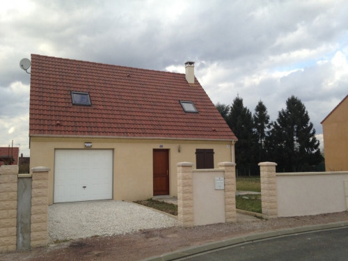 Sale - Construction project 5 rooms - 82 m2 - Leers - Photo
