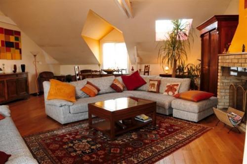 Locação para as férias - Apartamento 4 assoalhadas - 120 m2 - Puteaux - Salon - Photo