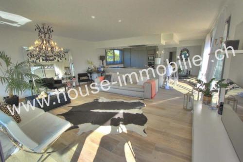 Deluxe sale - Architect house 5 rooms - 151 m2 - Chens sur Léman - Photo