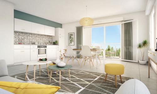 Producto de inversión  - Apartamento 2 habitaciones - 45,55 m2 - Saint Martin d'Hères - Photo