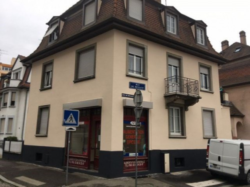 Rental - Empty room/Storage - 40 m2 - Strasbourg - Photo