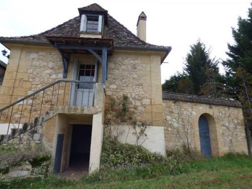 Vente - Maison en pierre 7 pièces - 141 m2 - Lanquais - Photo