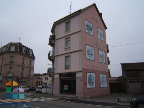 Location - Local commercial - 93 m2 - Mulhouse - Photo