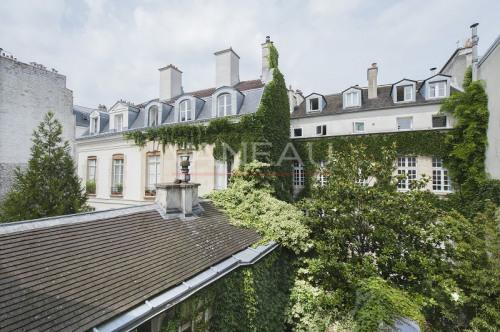 Престижная продажа - квартирa 3 комнаты - 90 m2 - Paris 4ème - Vue jardin - Photo