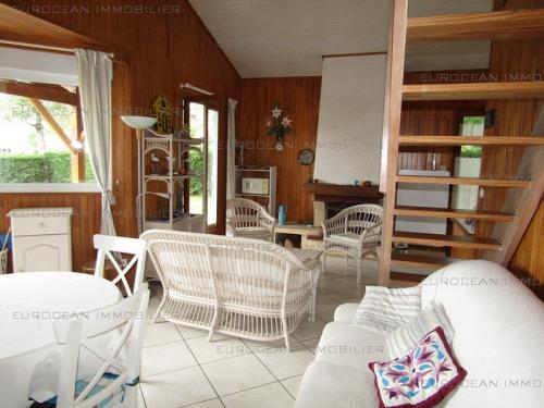Location vacances - Villa 4 pièces - 70 m2 - Lacanau - Photo