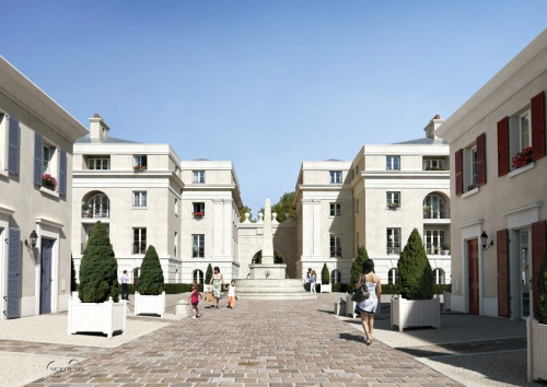 New home sale - Programme - Serris - Photo