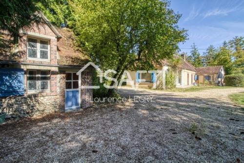 Vente - Maison ancienne 4 pièces - 110 m2 - Neuilly sur Eure - Photo