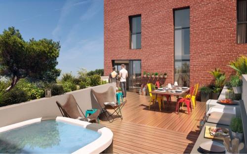 Kapitalanlag - Loft 5 Zimmer - 117 m2 - Toulouse - Penthouse_Factory_ Toulouse - Photo