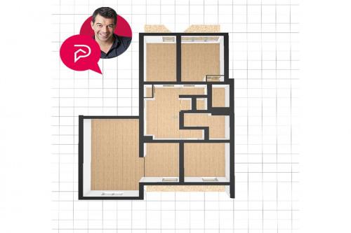 Revenda - Apartamento 5 assoalhadas - 90,52 m2 - Levallois Perret - Photo