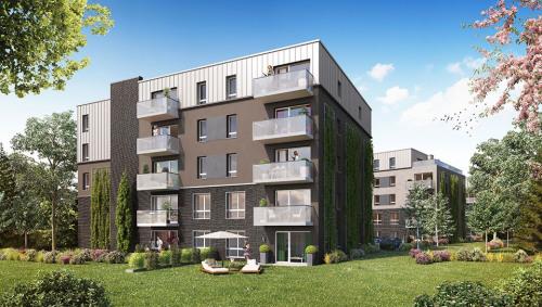 Investeringsproduct  - Appartement 3 Vertrekken - 61,63 m2 - Croix - Photo