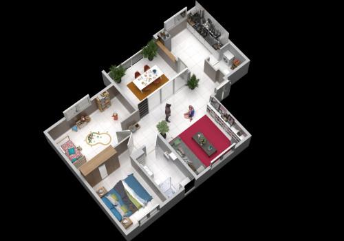 投资产品 - 公寓 3 间数 - 70 m2 - Matoury - Photo