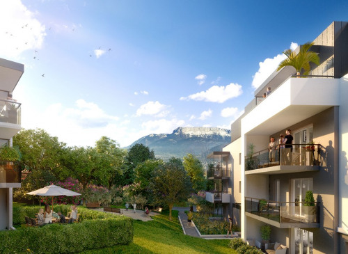 Investeringsproduct  - Appartement 4 Vertrekken - 82,03 m2 - Seynod - Photo