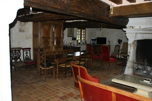 Venta de prestigio  - casa solariega 7 habitaciones - 270 m2 - Le Neubourg - Espace repas - Photo