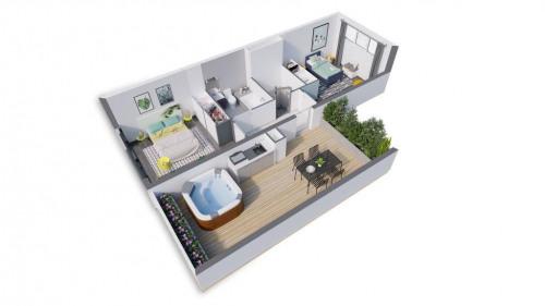 Kapitalanlag - Loft 5 Zimmer - 117 m2 - Toulouse - Intérieur loft Factory_ Toulouse - Photo