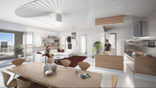 Deluxe sale - Apartment 4 rooms - 108 m2 - Paris 14ème - Photo