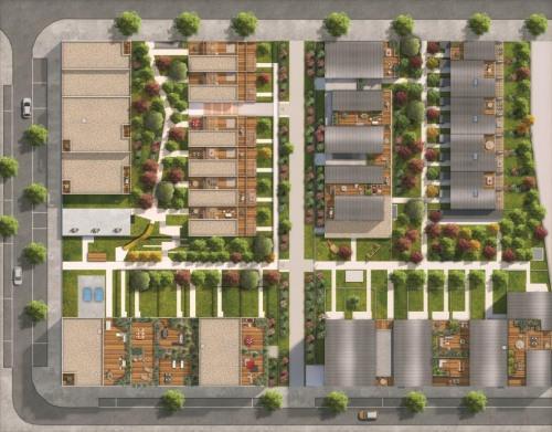 Kapitalanlag - Loft 5 Zimmer - 117 m2 - Toulouse - Plan masse_Factory_Toulouse - Photo