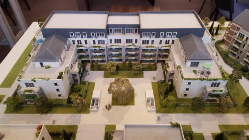 New home sale - Programme - Beauvais - Le Franc Marché appartements neufs Beauvais centre-ville hyper centre BBC RT2012 programme PINEL LK PROMOTION Louis Kotarski Oise - Photo