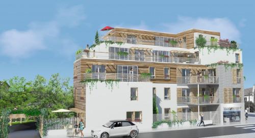 Produit d'investissement - Appartement 5 pièces - 94,31 m2 - Bondy - Vue de l'impasse du vieux château - Photo