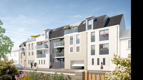 新房出售 - Programme - Tours - vue rue François Richer - Photo